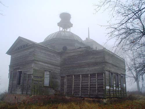 - Orthodox church of St. Nicholas. View from the north-east