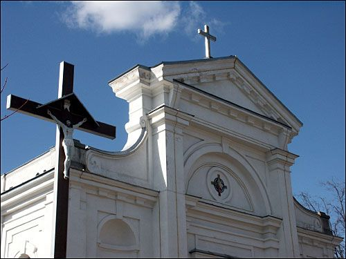 - Catholic church of the Assumption of the Blessed Virgin Mary. Detail