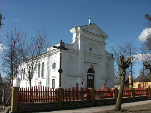 - Catholic church of the Assumption of the Blessed Virgin Mary. Catholic church of the Assumption of the Blessed Virgin Mary in Pružany