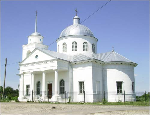 Suvorovo |  Orthodox church of the Birth of the Virgin. Exterior