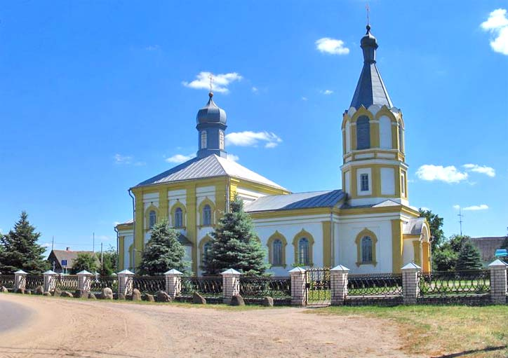 Šarašova. Orthodox church of St. Nicholas