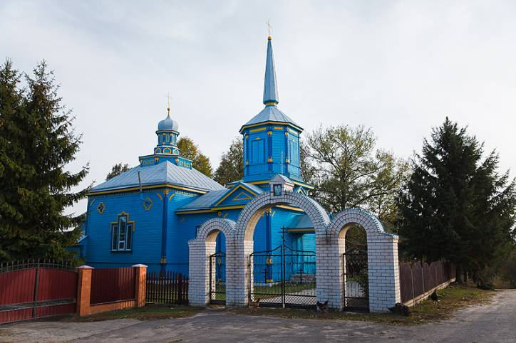 - Orthodox church of the Holy Trinity.