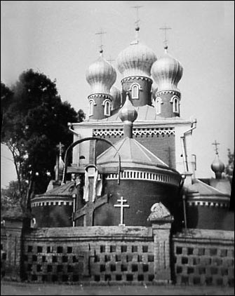 Davyd-Haradok. Orthodox church of the Holy Mother of Kazan