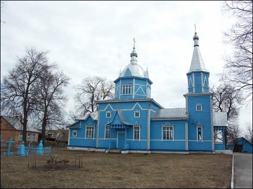 Stolin. Orthodox church of the Assumption