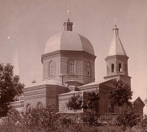 Nivnoe.  Orthodox church of the Birth of the Virgin