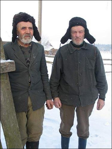 - We wsi . Mieszkańcy Choromiec