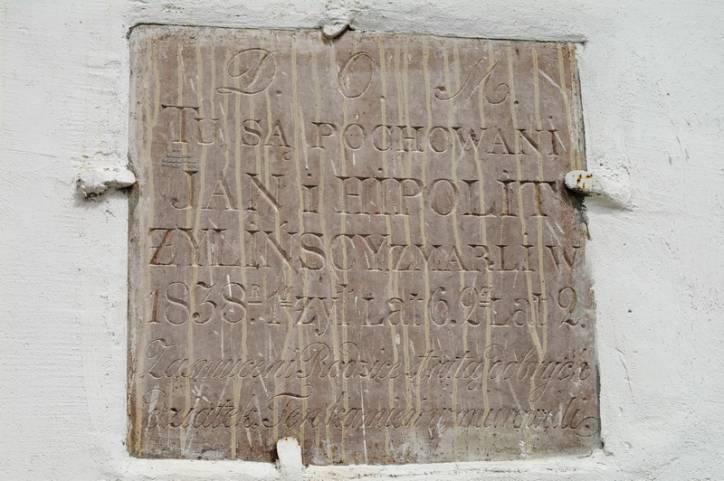- Касцёл Святых Космы і Даміяна. Jan (1832-1838)i Hipolit (1836-1838) Zylinscy