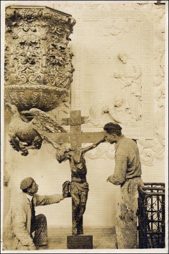- Касцёл Святога Міхала Арханёла. Фатаздымак Адама Анімуцкага (Adam Animucki). 1938 г.