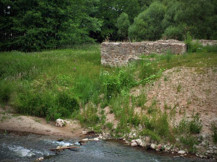 - Water-mill (in ruins).