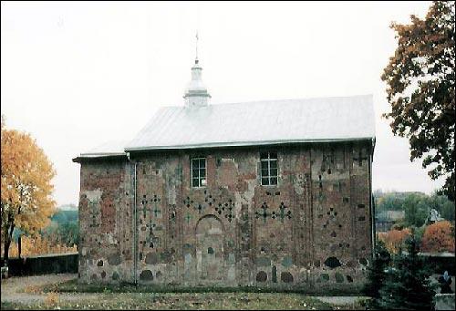 - Царква Святых Барыса й Глеба (Каложская). Бакавы фасад