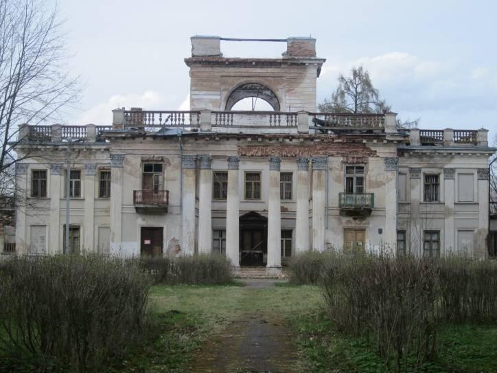 - Палацава-паркавы ансамбль Умястоўскіх.