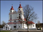 Vavierka.  Catholic church of the Transfiguration of the Lord