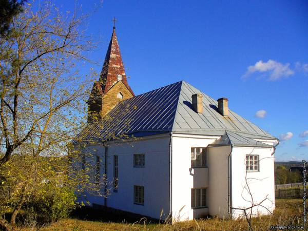 Albiarcin (Słonim). Catholic church of St. Mary