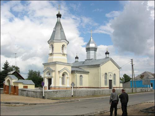 Porazava. Orthodox church of the Holy Trinity