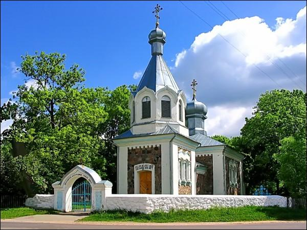 Rakavičy. Orthodox church of the Birth of the Virgin