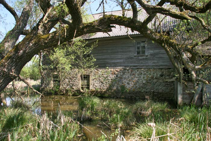 - Water-mill . Fragment