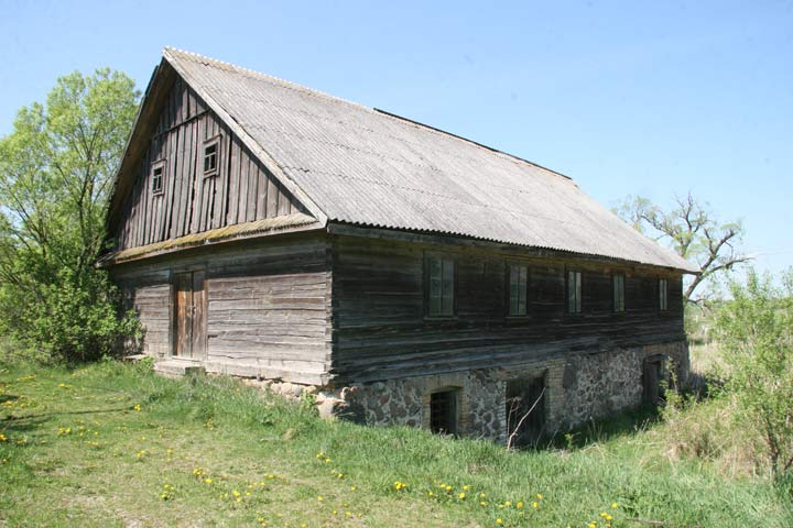 - Water-mill . Exterior