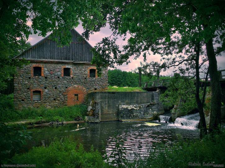 - Water-mill .