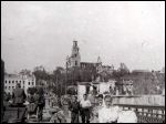 Hrodna.  Town photos from WWII period