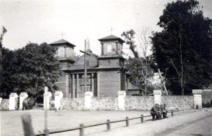 - Catholic church of Our Lady of the Rosary. Catholic church of Our Lady of the Rosary in Aziory