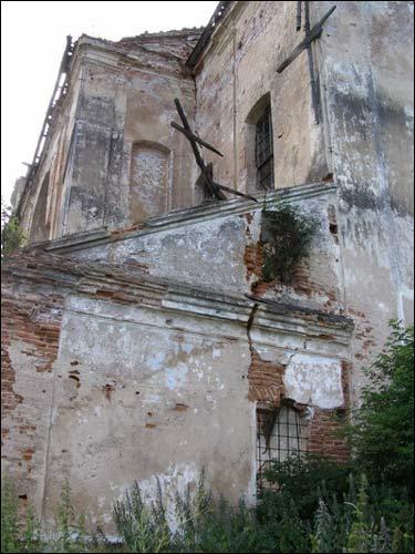 - Касцёл Святога Мікалая. Фрагмент, 07.2008