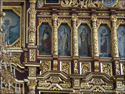 - Манастыр Святога Мікалая. Іканастас, фрагмент (09.06.2007)