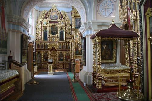 - Манастыр Святога Мікалая. Інтэр'ер, фрагмент (09.06.2007)