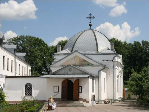- Манастыр Святога Мікалая. Царква Сьв. Ануфрыя (1798г.)