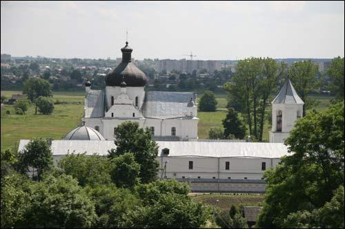 - Манастыр Святога Мікалая. Погляд на манастыр ад поўначы (09.06.2007)