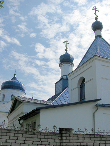 - Orthodox church of St. Barys And St. Hlieb. Detail