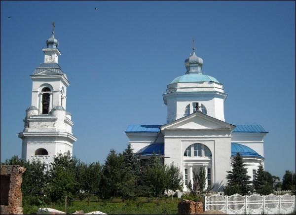 Słaŭharad (Prapojsk). Orthodox church of the Birth of the Virgin