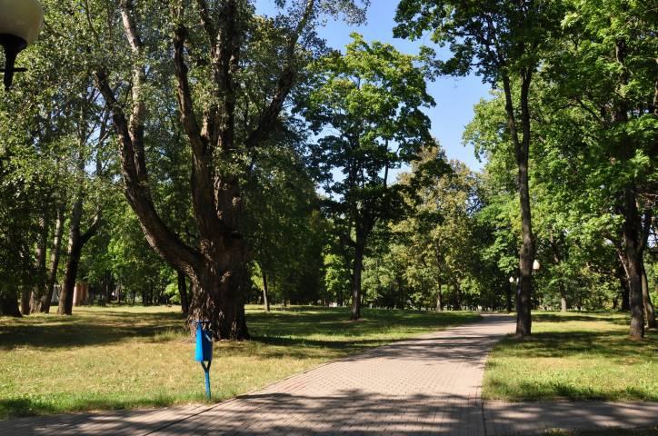 - Прысядзібны парк пры былой сядзібе Крывашэіна. У шклоўскім парку