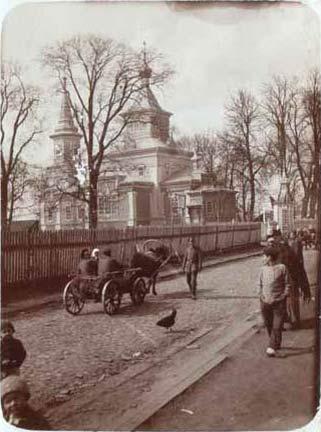 - Cerkiew św. Jerzego. Fotografia cerkwi z lat 30 XX w
