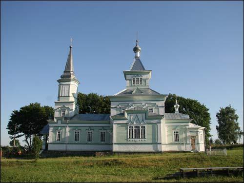 - Cerkiew św. Jerzego. Fasada południowa