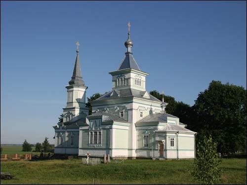 - Cerkiew św. Jerzego. Widok z południowego wschodu