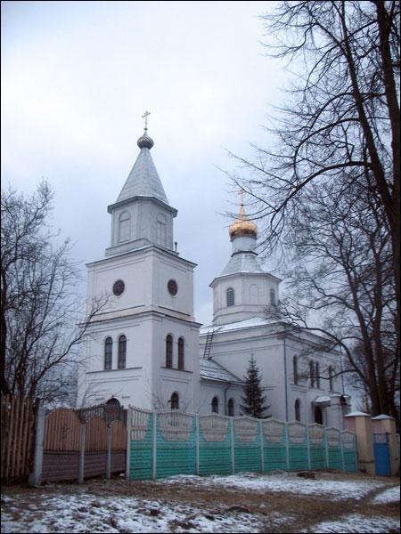 - Царква Святога Мікалая. Мікалаеўская царква ў Лагойску