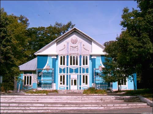 Приусадебный парк при бывшей усадьбе Слизней (деревня Вольно).