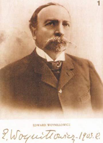 - Касцёл Святых Сымона й Алены. Эдвард Вайніловіч (1847-1928), фундатар касьцёла