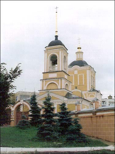 - Orthodox church of the Resurrection. Exterior