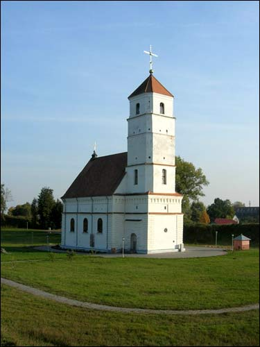 Zasłaŭie. Orthodox church of the Transfiguration