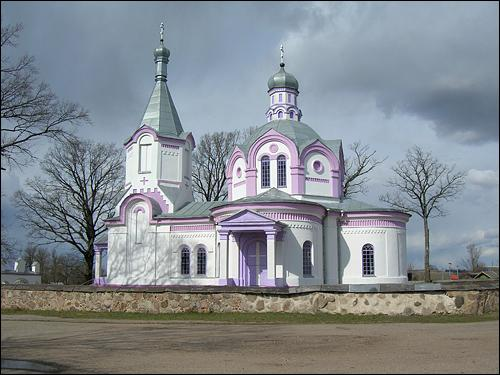 Daŭhinava. Orthodox church of the Holy Trinity