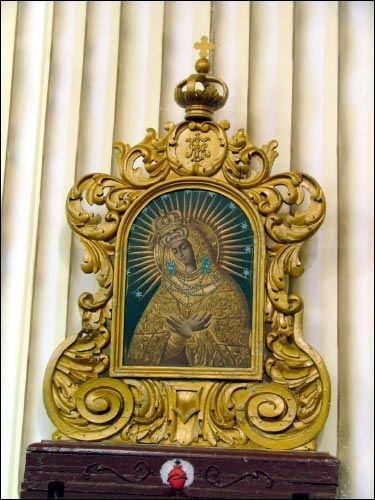 - Касцёл Беззаганнага Зачацця Найсвяцейшай Панны Марыі. Абараз Маці Божае Вастрабрамскае
