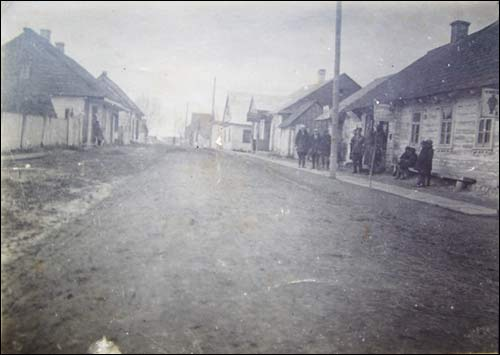 Snoŭ. Old photos of the township