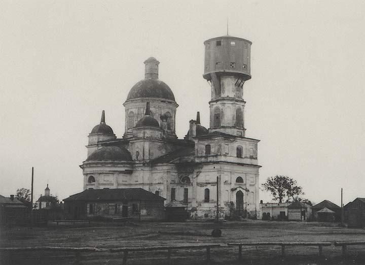 - Сабор Святога Мікалая. Нова-Мікалаеўскі сабор у Старадубе на здымку часоў 2-й сусветнай вайны