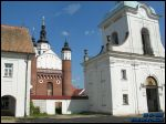 Supraśl.  Orthodox church and the Monastery of the Annunciation