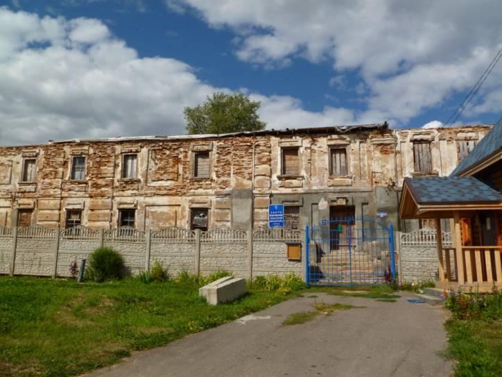 - Манастыр базыльянаў. кляштар базылянаў у Воршы