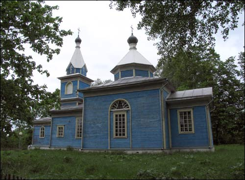 Dabryhory. Orthodox church of St. Nicholas