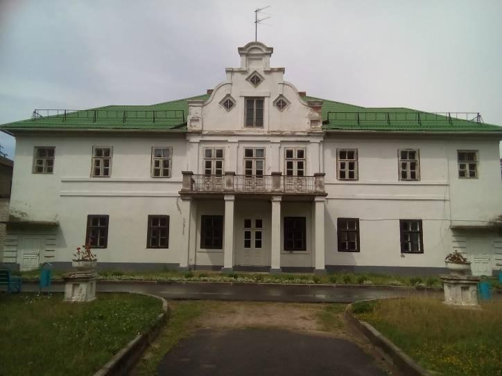 - Палацава-паркавы ансамбль Віславухаў.