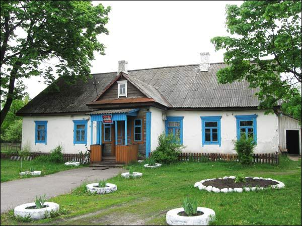 Gorki (Hancavičy). Manor of Padareŭski