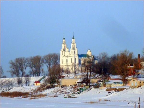 - Царква Святой Сафіі. Софийский собор в Полоцке